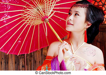 Classical Beauty - chinese girl