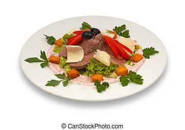veal salad