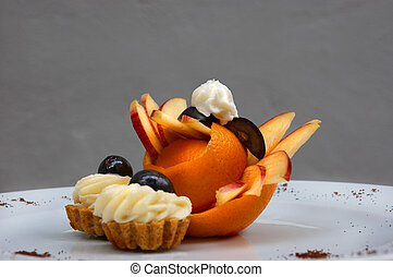 petit four 4 - petit four served on plate with original...