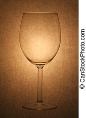 wine glass - a wine glass in yellow tone