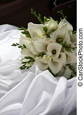 Wedding flowers - Effective bouquet of exotic flowers for...