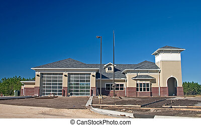 community firestation - newly constructed community...