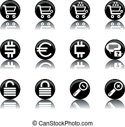 ecommerce icons - set 2 - a set of ecommerce themed icons