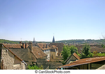 Ancient Town in Champagne