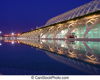 Valencia 1 - Valencia has a very nice science museum with...