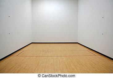 vacío, Racquetball, tribunal