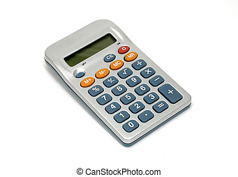 Calculator - Photo of a Digital Calculator - Everyday Office...