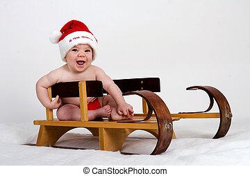 min, jul, första