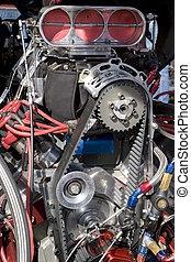 Hot Rod Engine - Engine of Hot Rod Car