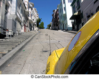 San Francisco Taxi - A thrilling taxi ride through the...