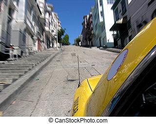 San Francisco Taxi - A thrilling taxi ride through the...