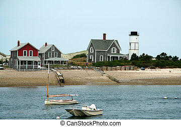 Beach Homes on the Water in Cape Cod Massechuettes