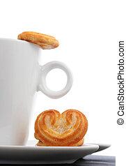caffè, biscotti