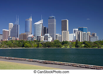 Sydney skyline - View of Sydney skyline