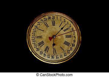 Unique Antique Clock - An Antique unique clock that has days...