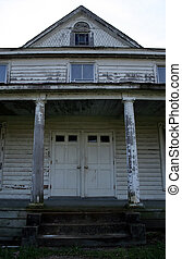 Country House - An abandoned country house.