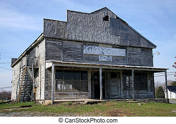 Abandoned Store - An abandoned store