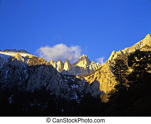 MtWhitney - Mt. Whitney in the Inyo National Forest of...