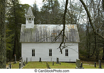 Cades Cove - Church - Cades Cove - 1902 Methodist Church
