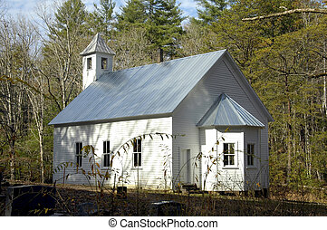 Cades Cove - Church - Cades Cove - Missionary Baptist Church...