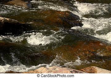 Grape Creek 2 - Mountain stream, rushing water