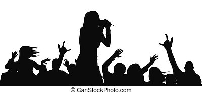 on the concert
