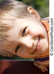 Happy boy - Smiling boy