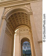 Arc de Triomphe P3 - Arc de Triomphe perspective 3, Paris,...