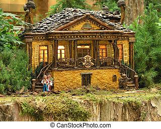Cottage Replica, Bellagio, Las Vegas
