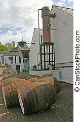 Whiskey Distillery in Scotland UK