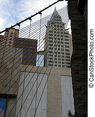 NY Skyline Bridge - NY NY Skyline with Bridge, Las Vegas