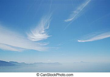 Capri Sky - Capri Islands in mist