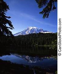 ReflectionLake - Reflection Lake and Mt Rainier in Mt...
