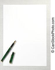 write me letter - blank for letter