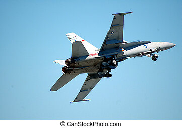 Air Show - Photographed jet at air show in Florida.