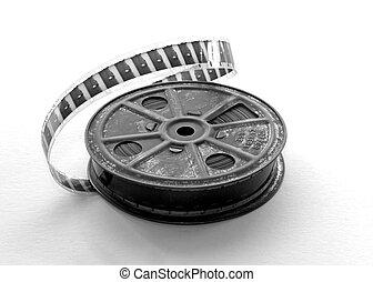Film Reel - 16mm film reel with film