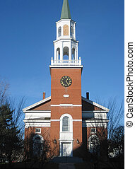 Church on Church St - Historic church on Church Street in...
