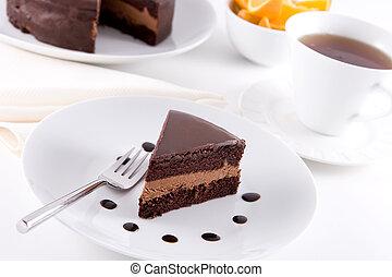 czekolada, ciastko