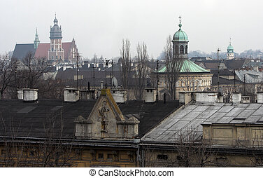 Krakow - Panorama of Krakow