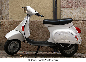 Scooter - White scooter