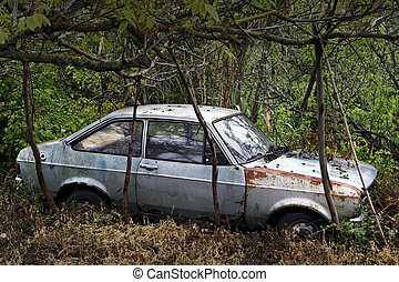 Wreck - Abandoned car