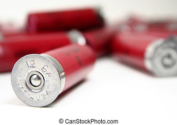 Made in America - A shotgun shell stamped with made in the...