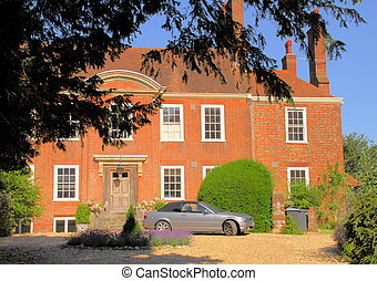 Winchester House - typical English stately home in the old...