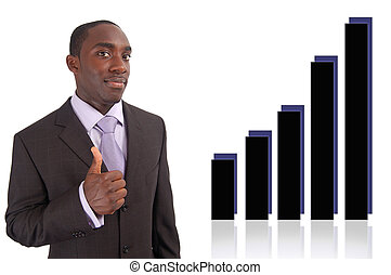 Wonderful Profit - This is an image of businessman with his...