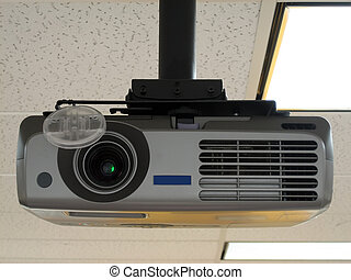 Projector 2 - State of the Art Projector Mounted on the...