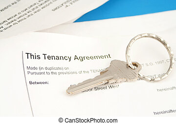 tenant agreement - some paperwork concerning tenancy...