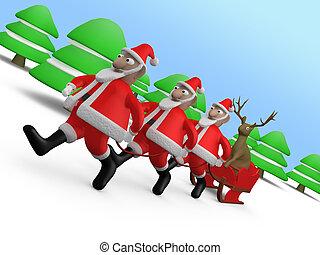 Weird Christmas #3 - Computer generated image - Weird...