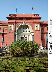 The Egyptian Museum Cairo - The Egyptian Museum in Cario,...