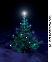 christmas tree II -