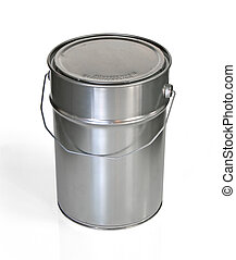 Tin can - Closed tin can (w clipping path)